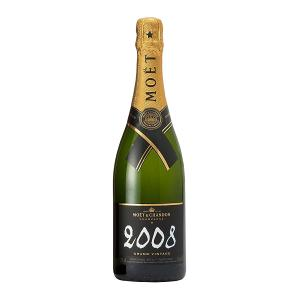 Moet & Chandon Grand Vintage Brut Champagne 2008 with Gift Box 750ml | Moet & Chandon