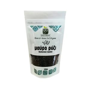 Black Rice 250g | Organic Vegan No Added Salt | Greenbay