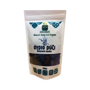 Wild Rice 200g| Organic Macrobiotic No Added Salt | Greenbay