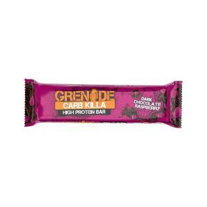 Carb Killa Μπάρες Υψηλής Πρωτεΐνης Dark Chocolate Raspberry 60g  | Σνάκ Χωρίς Ζάχαρη | Grenade