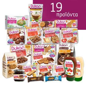 Dukan Πακέτο Διατροφής για Δίαιτα και Έλεγχο Βάρους 14 Ημερών | Dukan