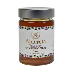 Greek Thyme Honey from Crete 400g | Natural Unblended Cretan Honey | Apicreta