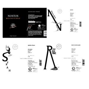 Nostos Collector's Edition Magnum | Ερυθρός Ξηρός Βιολογικός Mourvedre Blend Syrah Roussanne (2015/2014/2014/2014) 4 φ x 1.5L  | Οινοποιία Μανουσάκη