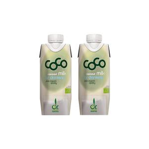 Coconut Milk for Drinking Mini  (2 pieces of 330ml) - Dr.Martins