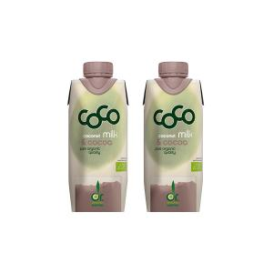 Coconut Milk for Drinking with Cacao Mini (2 pieces of 330ml) - Dr.Martins
