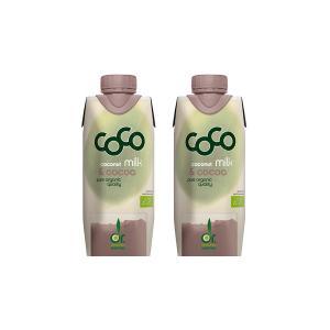 Ρόφημα Γάλα Καρύδας με Κακάο Mini (2 τεμάχια των 330ml) - Βιολογικό Ρόφημα Χωρίς Ζάχαρη | Dr.Martins