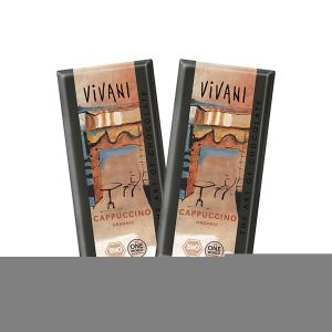 Cappuccino Chocolate (2 pieces of 100g) - Vivani