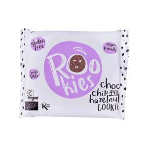 Rookies   Μπάρα Μαλακό Μπισκότο με Σοκολάτα και Φουντούκι (6 τεμάχια των 40g) - Βιολογικό Σνακ Χωρίς Γλουτένη   Roobar