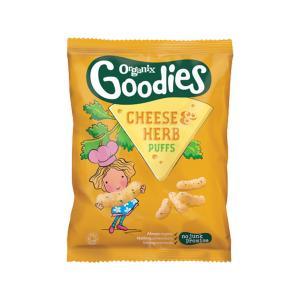 Σνακ Καλαμπόκι με Τυρί & Μυρωδικά (5 σακουλακια των 15g) -  Goodies Organix