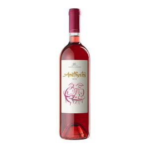 Αμέθυστος Ροζέ | ΠΓΕ Δράμα Ξηρός Cabernet Sauvignon Merlot (2019) 750ml | Κτήμα Κώστα Λαζαρίδη