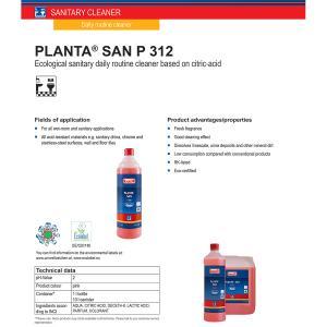 Buzil Οικολογικό Αφαλατικό Planta San 1L | M&G Hygiene Solutions
