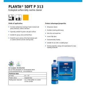 Buzil Οικολογικό Καθαριστικό Γενικής Χρήσης Planta Soft 1L | M&G Hygiene Solutions
