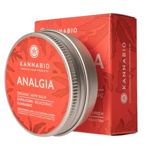 Organic Hemp Balm ANALGIA 30ml | Kannabio
