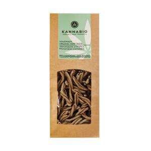 Organic Hemp Pasta Spirals 350g | Handmade Traditional Greek Pasta | Kannabio