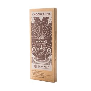 Chocolate Bar Chocokanna 50g | Organic Hemp Seeds Vegan | Kannabio