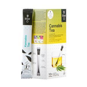 Elixir Τσάι Βιολογικής Κάνναβης 10 Ράβδοι 20g | Kannabio