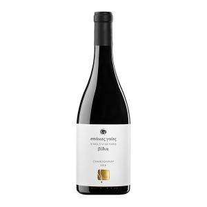 Σπάνιες Γαίες Βίδια | ΠΓΕ Πελοπόννησος Λευκός Ξηρός Chardonnay (2018) 750ml | Κτήμα Στροφιλιά