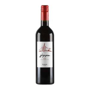 Gefyra Red | PGI Evia Dry  Wine Cabernet Sauvignon Merlot Vradiano (2017) 750ml | Lykos Winery
