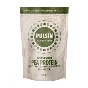 Pea Protein 250g | Vegan Lactose Free No Added Sugar | Pulsin