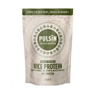 Rice Protein 250g | Vegan Lactose Free No Added Sugar | Pulsin