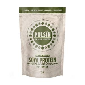 Soya Protein 250g | Vegan Lactose Free No Added Sugar | Pulsin