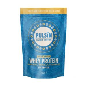Natural Vanilla Whey Protein 250gr | Vegetarian No Added Sugar | Pulsin