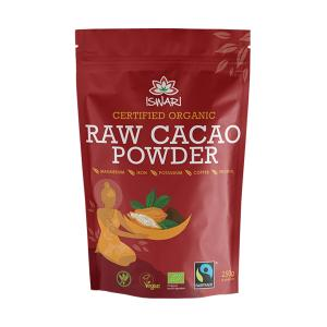 Raw Cacao Powder 250g | Organic Gluten Free No Added Sugar | Iswari | Iswari