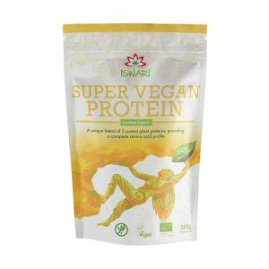 Super Vegan Protein 250g | Organic Gluten Free No Added Sugar | Iswari