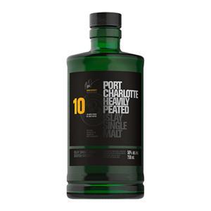 Bruichladdich Port Charlotte 10 Year Old 700ml   Islay Single Malt Scotch Whisky   Bruichladdich