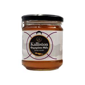 Kalliston Thyme Honey from Crete 250g | Natural Unblended Cretan Honey | Apicreta
