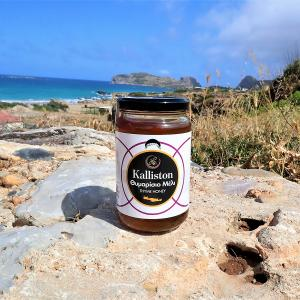 Kalliston Κρητικό Θυμαρίσιο Μέλι 450g | Φυσικό Ελληνικό Μέλι | Apicreta