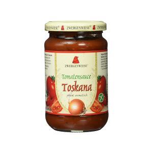 Σάλτσα Ντομάτας Τοσκάνα 350g | Έτοιμη Βιολογική Σάλτσα Χωρίς Γλουτένη Χωρίς Ζάχαρη Χωρίς Λακτόζη Vegan | Zwergenwiese