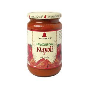 Σάλτσα Ντομάτας Νάπολι 350g | Έτοιμη Βιολογική Σάλτσα Χωρίς Γλουτένη Χωρίς Ζάχαρη Χωρίς Λακτόζη Vegan | Zwergenwiese