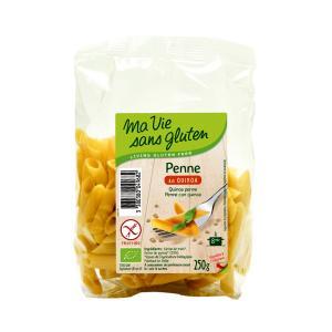Organic  Quinoa Penne 250g | Gluten Free Vegan Lactose Free Pasta | Ma Vie Sans Gluten