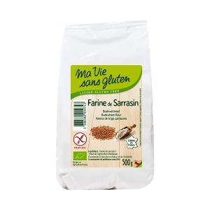 Organic  Buckwheat Flour 500g | Gluten Free Vegan Lactose Free | Ma Vie Sans Gluten