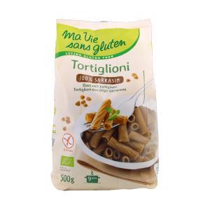 Buckwheat Tortiglioni 500g | Organic  Gluten Free Vegan Lactose Free Pasta | Ma Vie Sans Gluten