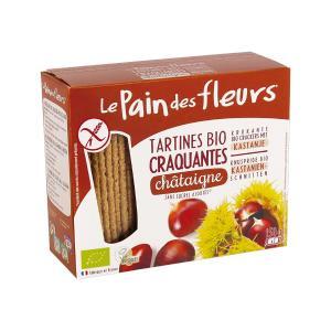 Organic Chestnut Crackers 150g | Gluten Free Vegan Lactose Free No Added Sugar | Le Pain des Fleurs