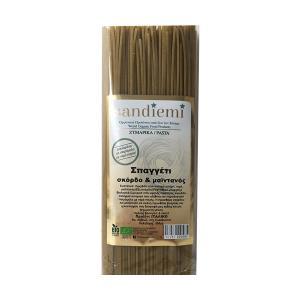 Organic Spaghetti with Garlic and Parsley 500g | Lactose Free  No Added Sugar | SandieMi