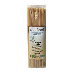 Organic Thick Spaghetti 500g | Lactose Free No Added Sugar | SandieMi