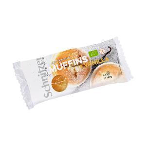 Organic Mini Vanilla Muffin 140g | Small Cake Gluten Free Vegetarian | Schnitzer
