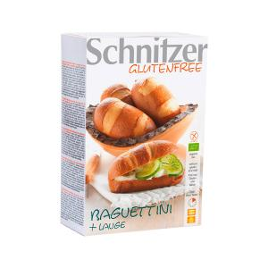 Organic Baguettini 250g | Vegan Gluten Free Lactose Free No Added Sugar | Schnitzer
