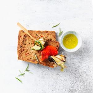 Ψωμί Μεσογειακό για Χορτοφάγους 125g | Βιολογικό Χωρίς Γλουτένη Χωρίς Λακτόζη Χωρίς Ζάχαρη Vegan | Schnitzer