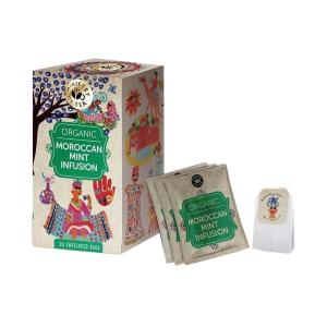 Organic Moroccan Mint Tea 20 bags 35g | Ministry of Tea