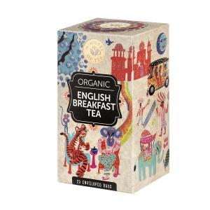 Organic English Breakfast Tea 25 bags 50g | Ministry of Tea