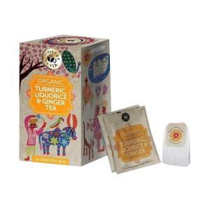 Organic Turmeric Liquorice and Ginger Tea 20 bags 35g | Ministry of Tea