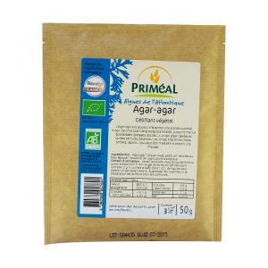 Agar Agar Powder 50gr | Organic Vegan Lactose Free No Added Sugar | Primeal