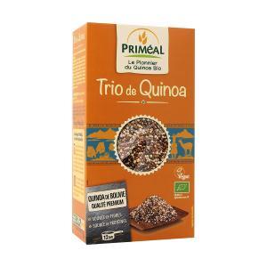 Quinoa Trio 500g  | Organic Vegan Lactose Free Vegeterian | Primeal