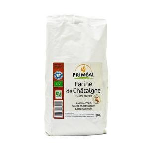 Organic Chestnut Flour 500g | Vegan Vegetarian Lactose Free No Added Sugar | Primeal
