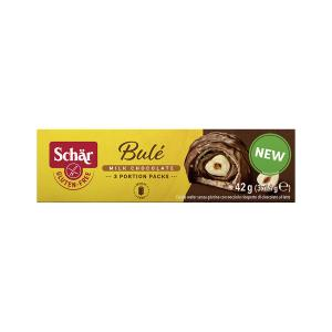 Bule Σοκολατάκια με Γκοφρέτα και Φουντούκι Χωρίς Γλουτένη 42g | Γλυκό Vegetarian Σνακ Χωρίς Σιτάρι | Dr Schar