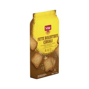 Fette Bisco Cereali Wholemeal Cereal Crispbread 260g | Gluten Free Lactose Free Vegan Vegetarian | Dr Schar